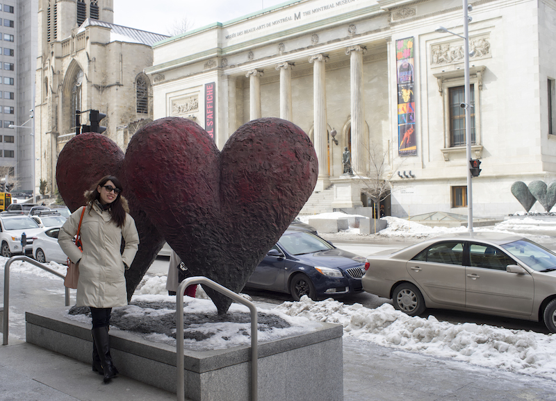 outside the Musee des Beaux Arts