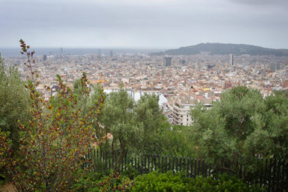 view from Park Güell