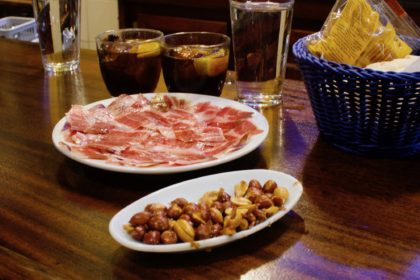Iberian ham and Spanish vermouth