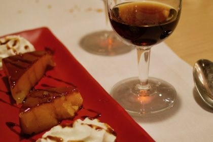 sherry and dessert