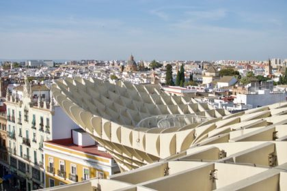 view from atop the Metropol Parasol