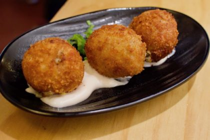 croquetas at La Brunilda