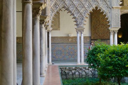 Courtyard of the Maidens, Real Alcázar de Sevilla