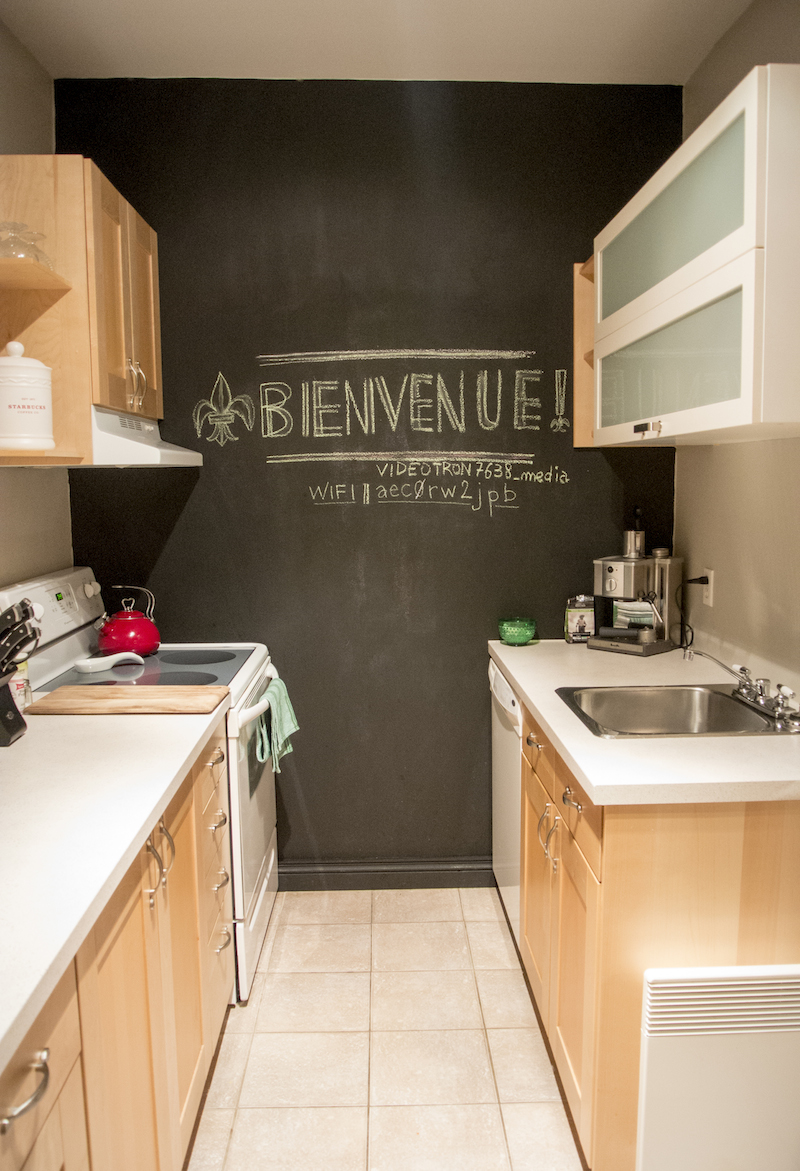 our Montreal apartment