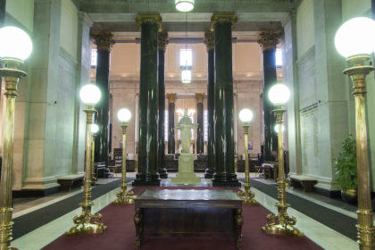 inside the old Bank of Montreal