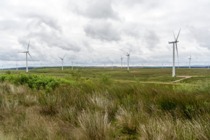 one of Europe's largest windfarms