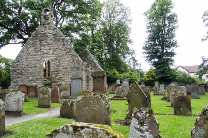 the old church in Alloway
