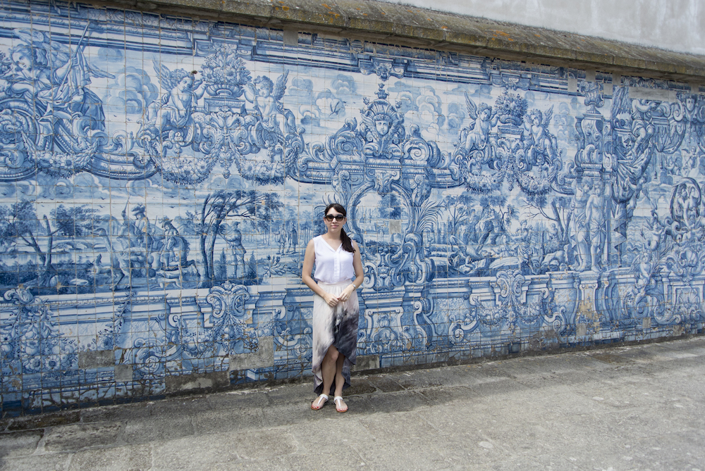 azulejos depicting life of Virgin Mary and Ovid's Metamorphoses