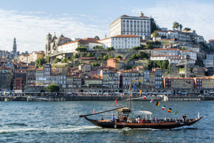 looking back at Porto