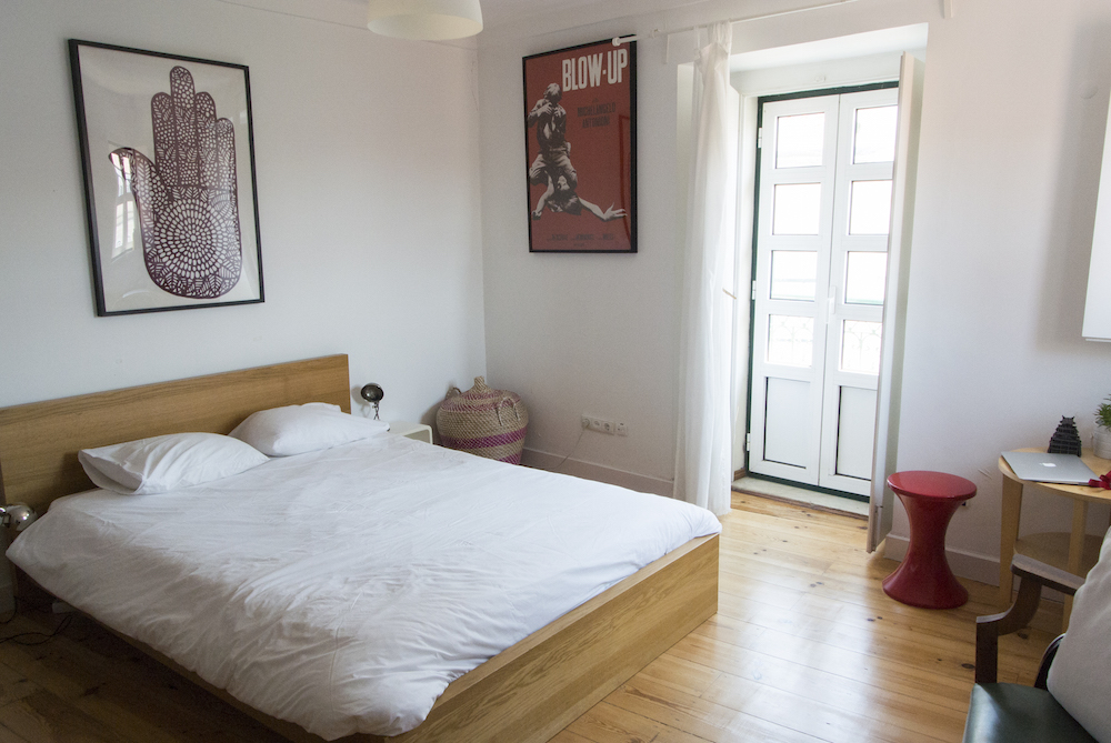 my cute little apartment in Lisbon
