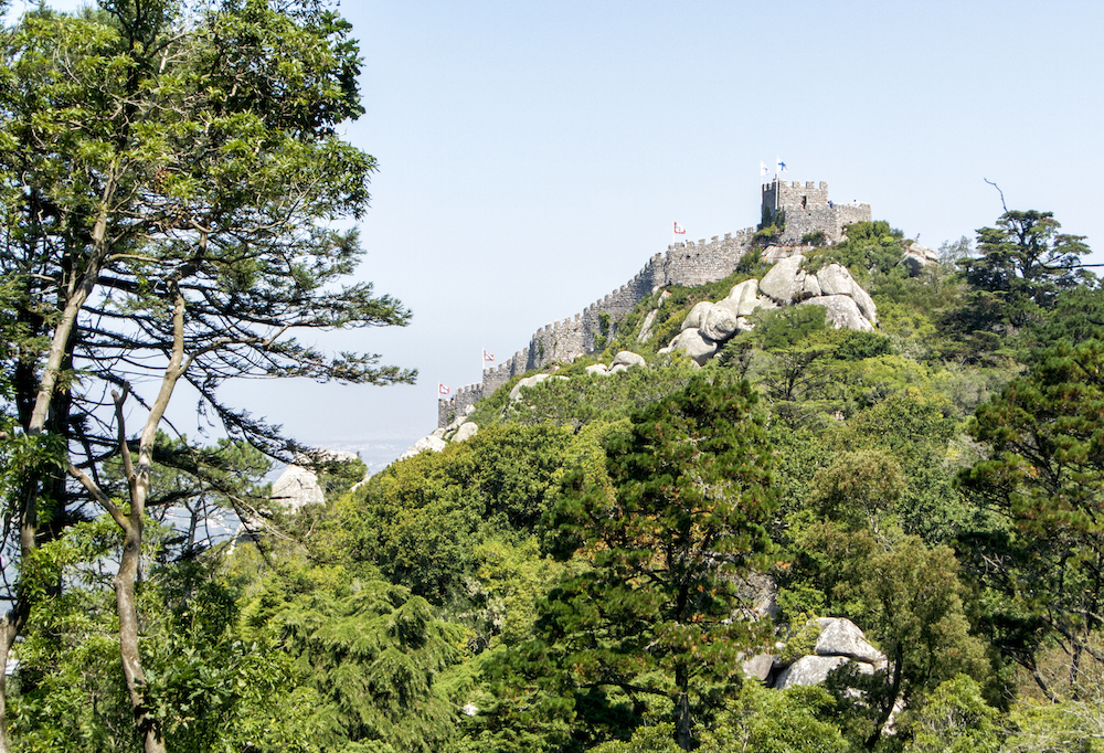 a view of Moorish Castle