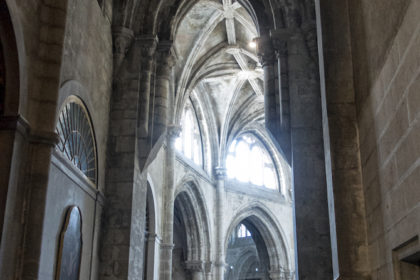 inside Lisbon Cathedral