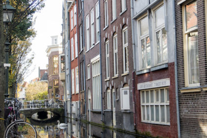 one of many picturesque canals