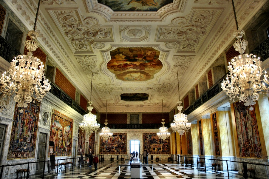 Amalienborg Interior A wintery spring in Co...