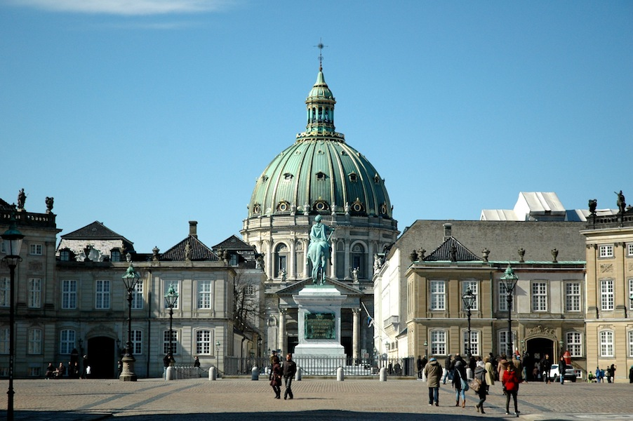 Marmorkirken and Amalienborg Palace