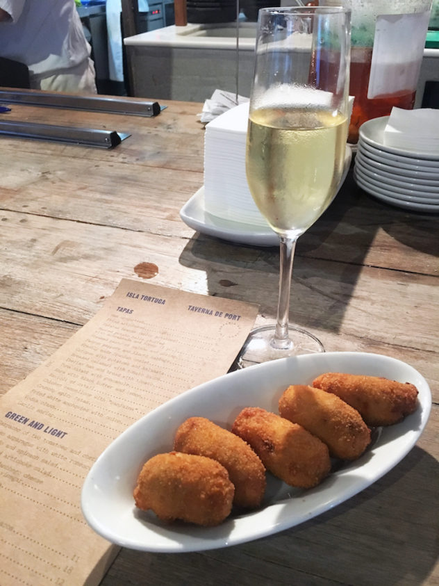 my first Spanish tapas: naturally, croquettes