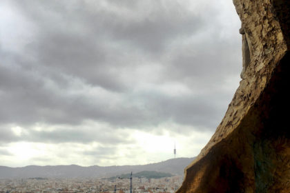 from the tower at Sagrada Familia