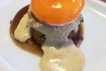 slow-cooked egg at Eslava