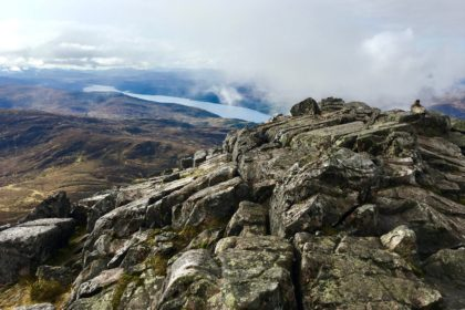 top of Schiehallion!