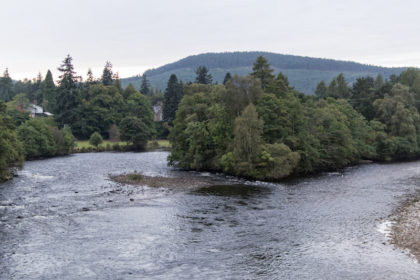 the River Dee in Aboyne